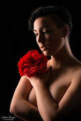 20200120_154042_FB (Focale Photography) Tags: portait portraiture topless french model flower blueeyes studio d850 nikon sensuality sensuel amazing lovely
