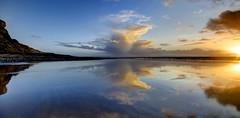 Neverending (pauldunn52) Tags: beach reflections whitmore stairs glamorgan heritage coast wales sunset