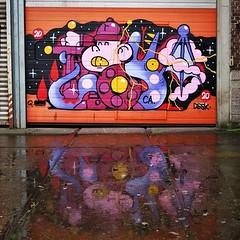 #Ghent update : the fun with rain? #reflections. Piece by #Toys. . #gent #streetart #urbanart #graffitiart #streetartbelgium #graffitibelgium #visitgent #streetartlovers #graffitiart_daily #streetarteverywhere #ilovestreetart #igersstreetart #gentje #inst (Ferdinand 'Ferre' Feys) Tags: instagram gent ghent gand belgium belgique belgië streetart artdelarue graffitiart graffiti graff urbanart urbanarte arteurbano ferdinandfeys