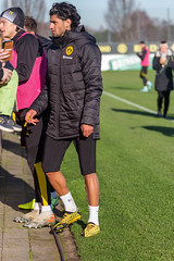 Nico Schulz and Mahmoud Dahoud meet the fans at the end of the Borussia Dortmund public training (verchmarco) Tags: bundesliga training borussiadortmund fussball bvb 2020 soccer fusball football competition wettbewerb woman frau rugby man mann exercise übung championship meisterschaft people menschen athlete athlet fun spas race rennen ball stadium stadion sportsfan sportfan action aktion recreation erholung match spiel foot fus track spur 2019 2021 2022 2023 2024 2025