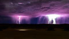 Thunderstrom (petraherdlitschke) Tags: thunderstrom africa southafrica kgalagadi landscape nature naturephotography outofafrica