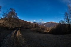 Kraguojnca (paolo-p) Tags: montagna mountain alberi trees linee lines ombre shadows fisheye