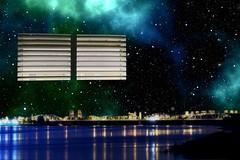 Window to the world (sirhowardlee) Tags: windows stars space sky citylights water