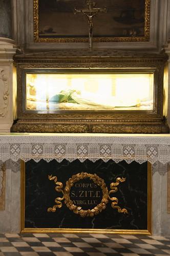 St Zita. Basilica of San Frediano. Lucca