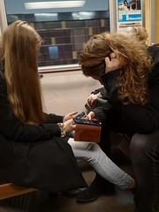 Modern love (skumroffe) Tags: modernlove lovers candid people subway ubahn metro tunnelbana stockholm sweden smartphone cellphone cellularphone mobilephone mobiltelefon phone telefon couple street