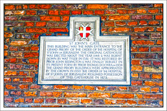 Plaque, St John's Gate, St John's Lane, Clerkenwell, Farringdon, London, England UK (Stuart Smith_) Tags: england farringdon gbr geo:lat=5152203424 geo:lon=010274301 geotagged london unitedkingdom 1148 1381 1504 1559 7dmkii brick britain british canoneos7dmkii english explore flickrgeotaggers gps greatbritain historic historical httpstudiaphotos inscription mapped plaque stjohnsgate stone stuartsmith stuartsmithstudiaphotos studiaphotos uk wattyler wwwstudiaphotos