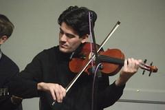Frog & Henry (2020) 13 - Kermane Arken (KM's Live Music shots) Tags: jazz ragtime unitedstates neworleans froghenry kermanearken violin winningposttwickenham