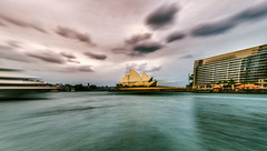 Sydney Harbour Boat Race (the.odyssey.photo) Tags: fisheye boat ferry motion longexposure operahouse sydneyharbour australia newsouthwales sydney