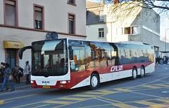 Ettelbréck, Place de la Gare 15.02.2019 (The STB) Tags: bus busse autobus autobús publictransport citytransport öpnv transportpublique luxembourg lëtzebuerg rgtr régimegénéraldestransportsroutiers verkéiersverbond ëffentlechentransport