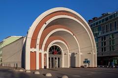 (ilConte) Tags: moscow mosca russia russian architettura architecture architektur krasnyevorota nikolailadovsky metro metroentrance