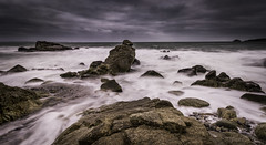 Brewing Storm (Julien Bihan) Tags: storm nuages clouds sea mer vagues waves outside nature plage beach trégana finistère bretagne canon nisifilters