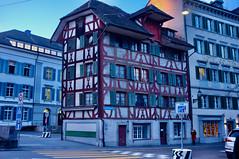 Fachwerkhaus in Luzern, #FlickrFriday #YourCulture (haralds2) Tags: flickrfriday yourculture luzern fachwerkhaus historisch