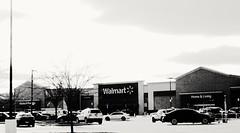 Walmart culture. ( Explored ) (Jon Hughes2) Tags: flickrfridays yourculture nikond3100 nikkor1855mm blackandwhite highkey explored fun