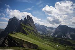47 (Alessandro Gaziano) Tags: dolomiti foto alessandrogaziano photo fotografia travel italia visioni montagna landscape panorama altoadige valgardena unesco sudtirolo nature cielo nuvole photograpy