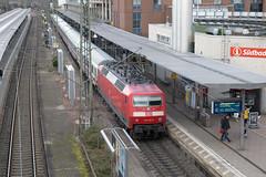 DB 120 105 Freiburg Hbf (daveymills37886) Tags: db 120 105 freiburg hbf baureihe