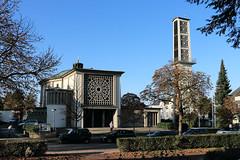 Haan, Katholische Kirche, St. Chrysanthus und Daria (julia_HalleFotoFan) Tags: haan kathkirche stchrysanthusunddaria kreismettmann nordrheinwestfalen