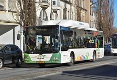 Esch-sur-Alzette, Boulevard John F. Kennedy 15.02.2019 (The STB) Tags: bus busse autobus autobús publictransport citytransport öpnv transportpublique luxembourg lëtzebuerg rgtr régimegénéraldestransportsroutiers verkéiersverbond ëffentlechentransport