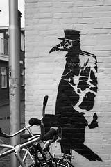 Wednesday (De Rode Olifant) Tags: marjansmeijsters quote wednesday mural streetart spoorzone tilburg