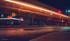 Night Lights (Fredrik Lindedal) Tags: nikon night nightshot nightlights nightphoto longexposure longexpo city cityscape cityview citypark cinema movie moviefestival gothenburg göteborg draken sverige sweden