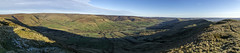 Edale (l4ts) Tags: landscape derbyshire peakdistrict darkpeak edale thegreatridge rushupedge kinderscout panorama