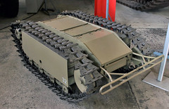 Goliath mini tank (Schwanzus_Longus) Tags: munster museum german germany old classic vintage remote controlled rc vehicle mini tank panzer explosive charge carrier drone war world ii 2 borgward goliath leichter ladungsträger bomb