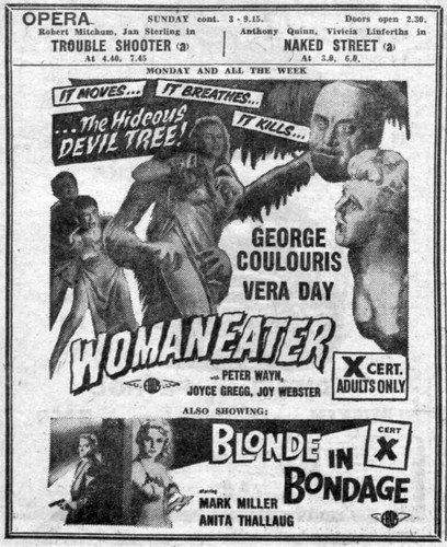 1958 - Womaneater - Blonde In Bondage