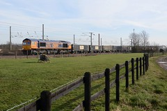 66778 aa Marholm 060219 D Wetherall (MrDeltic15) Tags: eastcoastmainline gbrailfreight class66 66778 marholm ecml