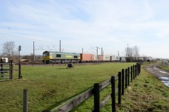 66551 aa Marholm 060219 D Wetherall (MrDeltic15) Tags: eastcoastmainline freightliner class66 66551 marholm ecml