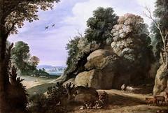 IMG_1727 Paul Bril 1554-1626  Rome  Paysage  Landscape  Cherbourg Musée des Beaux Arts Thomas Henry (jean louis mazieres) Tags: peintres peintures painting musée museum museo france normandie cherbourg muséedesbeauxarts muséethomashenri