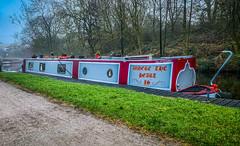 Where the heart is... (David JP64) Tags: pendle canal lancashire foulridge leedsliverpoolcanal barge