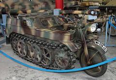 Kettenkrad (Schwanzus_Longus) Tags: munster tank museum german germany old classic vintage vehicle halftrack tracked world war ii wehrmacht nsu hk101 kettenkrad