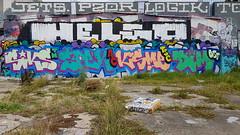 Sick, Spek, Ksme & Dim... (colourourcity) Tags: theboneyard boneyard melbourne burncity colourourcitymelbourne streetartnow streetartaustralia colourourcity nofilters streetart graffiti siks spek ksme dim tsc ac allcity tm sick osf