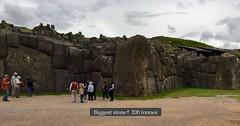 The biggest (Pierre♪ à ♪VanCouver) Tags: killkeculture unescoworldheritage saqsaywaman cusco peru pérou inca inka