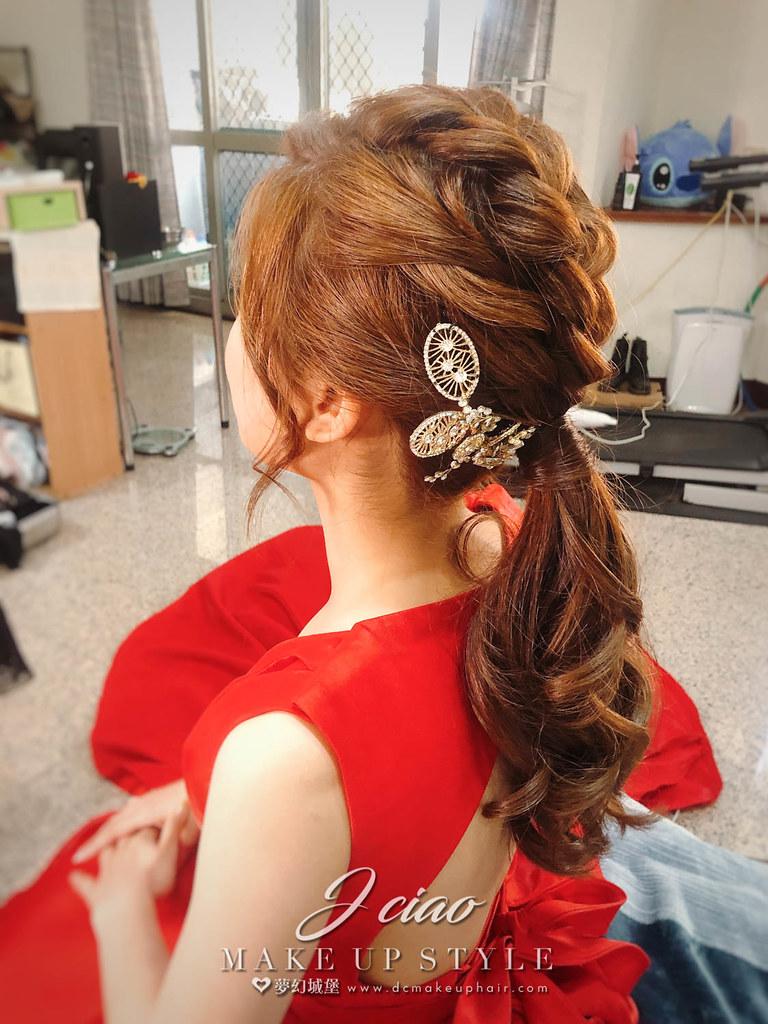 【新秘婕喬】bride雅婷 訂婚造型 / 韓系甜美風