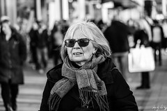 Shades (STREET2020) Tags: candid canoneos750d citylife edinburgh edinburghstreetphotography fashion people places princesstreet scarf shades street streetphotography streetportrait style