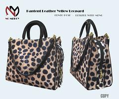 Pantent Leather Yellow-Leopard (Efe Dizayn) Tags: armbag bentobag bag meshbagblackbag handbag meshhandbag leopardarmbag leopardhandbag blackleatherbag meshbag leopardhadbag yellowleopardbag