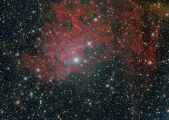 IC 405 - The Flaming Star Nebula (L   O) Tags: deepsky space astrophotography qhy168c
