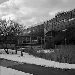 The Bridge (Alex Luyckx) Tags: oakville ontario canada mccraneyvalleypark mccraneyvalley urban park greenspace sheridan sheridancollege trafalgarroadcampus campus college school institution winter snow walk hike startofterm escape frankeheidecke rolleiflex rolleiflex28f tlr 120 6x6 square mediumformat carlzeissplanar80mm128 lomography kino lomographyberlin400 berlin400 orwon74 asa400 kodak hc110 kodakhc110 dilutionb 131 epsonv700 adobephotoshop bw blackwhite photography film filmphotography believeinfilm filmisalive filmisnotdead