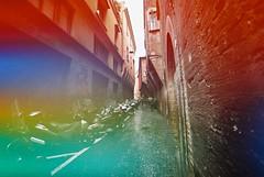 Bologna (Jelly) (goodfella2459) Tags: nikonf4 dubblefilmjelly200 35mm c41 film analog colour city streets road buildings bologna italy manilovefilm