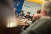 Guillermo Mariscal preside la reunión con los sindicatos de la UGT y CC.OO. acerca del expediente de extinción de empleo de la empresa Alcoa, presentado para las plantas de Avilés y A Coruña. (22/01/2020)