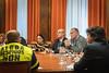Celso Delgado en la reunión con los sindicatos de la UGT y CC.OO. acerca del expediente de extinción de empleo de la empresa Alcoa, presentado para las plantas de Avilés y A Coruña. (22/01/2020)