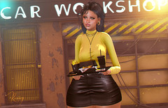 Car Workshop (RoxxyPink) Tags: roxxypink roxxy pink fashionuschies fashion uschies fashionblog blog blogger blogging blogspot secondlifeblog secondlifeblogger secondlife second life sl 2ndlife virtuallife virtualworld world virtual avatar ava avi style styling mesh meshhair hair monso meshbody body maitreya meshhead head genus meshclothes clothes clothing {vision} backdrop background ks collabor c88 collabor88 car workshop bento event access accessevent uber movement rare gacha epiphany