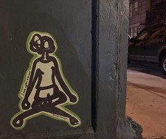 NYC 2019 (bella.m) Tags: graffiti streetart urbanart nyc newyork usa ny art wheatpaste pasteup yoga earlyrisernyc iamoftenanxious