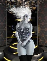 ChL0e - Not fragile like a flower - fragile like a bomb (~*Valerian*~) Tags: secondlife avatar virtual digital cyberpunk scifi boudoir maitreya genus cureless mainframe hilted humanglitch adored