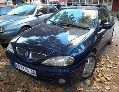 2001 Renault Megane Coupe 1.9 dTi (FromKG) Tags: renault megane coupe 19 dti blue car kragujevac serbia 2019 2001