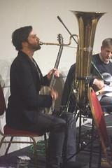 Frog & Henry (2020) 15 - Dave Neigh (KM's Live Music shots) Tags: jazz ragtime unitedstates neworleans canada froghenry daveneigh deeringbanjo 6stringbanjo banjo tuba winningposttwickenham