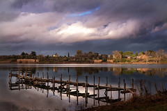 Il lago di Monterosi (Stefano Avolio) Tags: lago lake monterosi viterbo tuscia novole clouds calma tranquillità calm landscape panorama stefanoavolio savolio