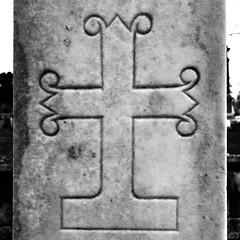 Cross (rustman) Tags: atx blackandwhite bnw bw capitolcity cemetery centraltexas community december downtown fall foggy monochrome morning photostroll photowalk stroll sunny texaslife