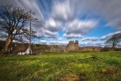 Long exposure ogmore castle (Ade Ward Phototherapy.) Tags: oldbuildings scenery landscape nikon wales clouds longexposure britain uk castles ruins history bridgend ogmorecastle ogmore