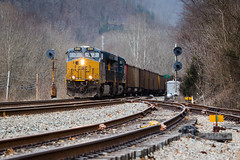 Pineville (Peyton Gupton) Tags: csx csxt cv sub pineville coal mine run cumberland valley